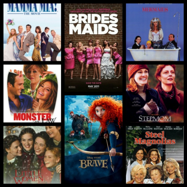 Mother's Day Movies, Mother/daughter Movies