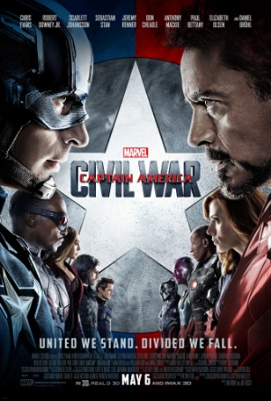Captain America: Civil War - Team Iron Man -Team America
