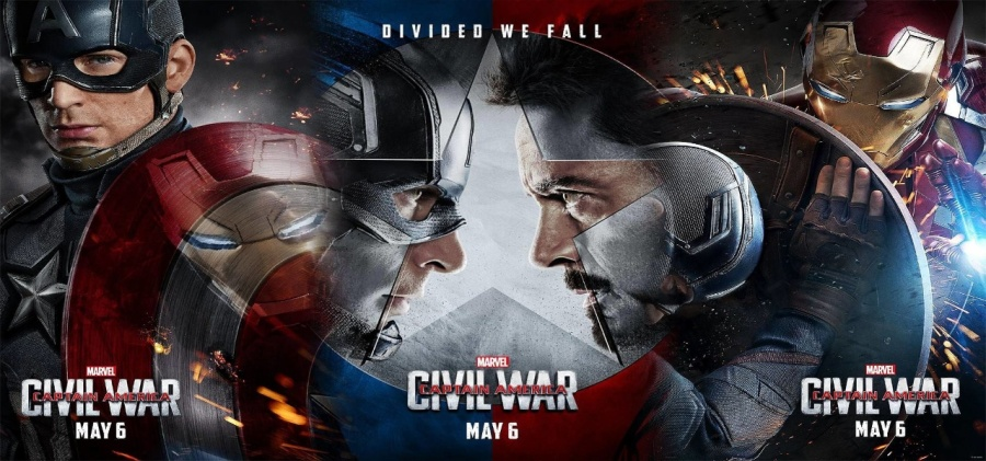 Captain America : Civil War -Team Iron Man - Team America