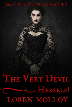 The Very Devil Herself by Loren Molloy- Cover Reveal