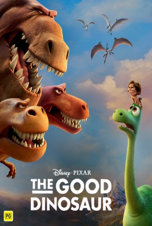 Disney Pixar's The Good Dinosaur- movie review- Reads & Reels