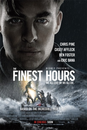 The Finest Hours-Movie Review-Chris Pine
