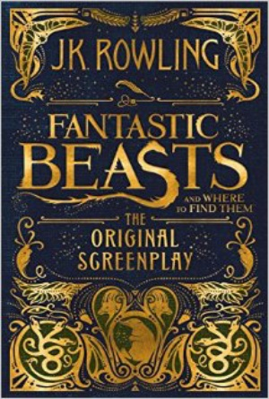 Fantastic Beasts and Where to Find Them-Screenplay-cover reveal