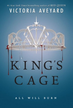 Cover Reveal-King's Cage-Victoria Aveyard