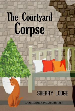 Book Blitz-The Courtyard Corpse-Sherry Lodge