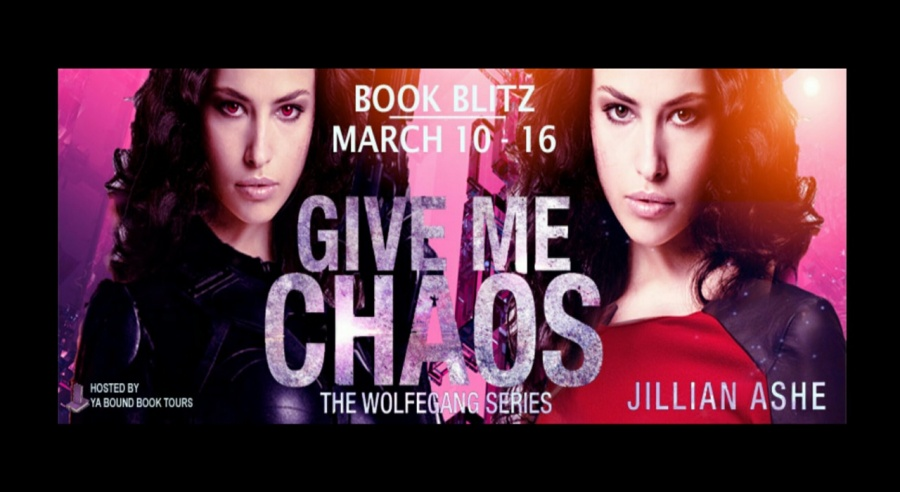 Give Me Chaos Book #5 of The Wolfgang Series- Jillian Ashe