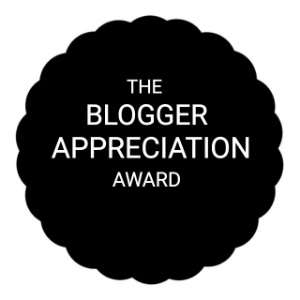 The Blogger Appreciation Award