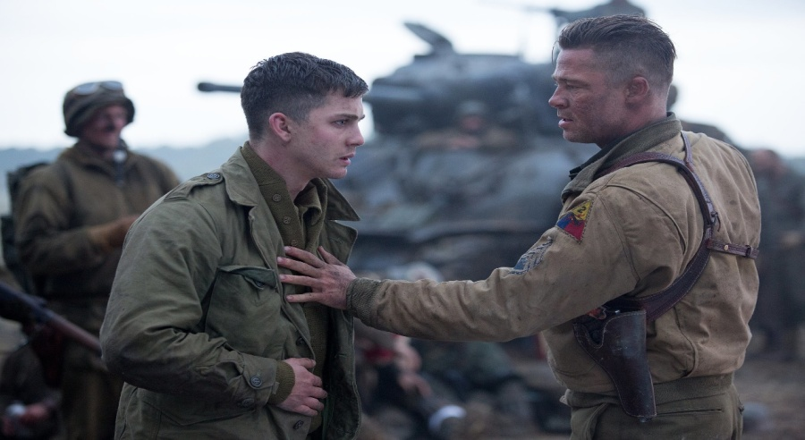 Fury-Brad Pitt- Review
