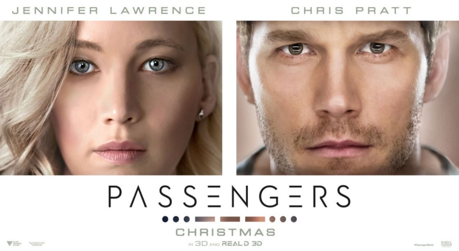 Passengers- Jennifer Lawrence- Chris Pratt