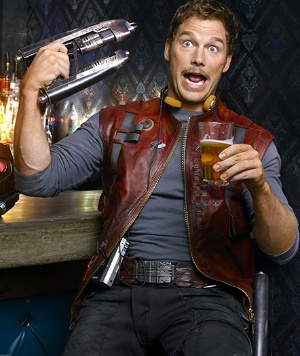 Star Lord- Chris Pratt- Guardians of the Galaxy