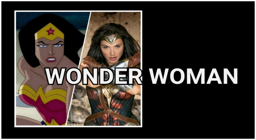 Wonder Woman- Animated- Live Action