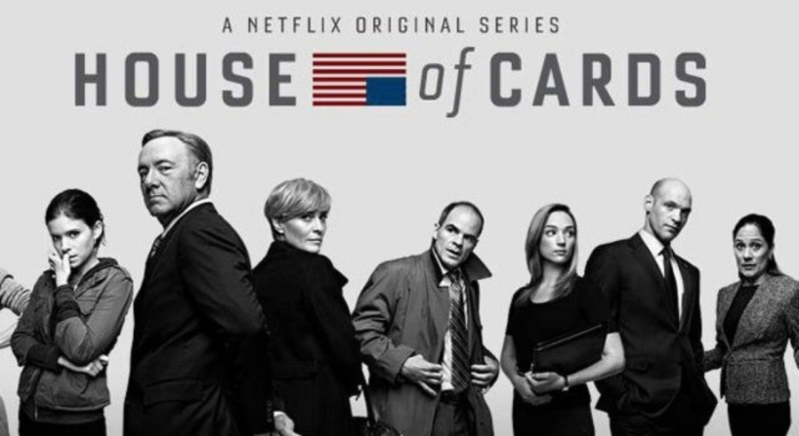 House of Cards- Netflix Original- Kevin Spacey- Robin Wright